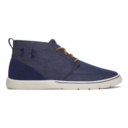 Mens Under Armour Street Encounter Mid Casual Shoe - Navy/Stone 10