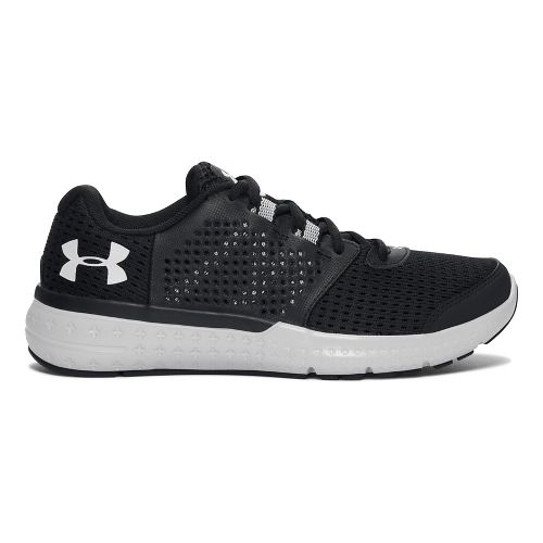 Womens Under Armour Micro G Fuel RN  Running Shoe - Black 7.5