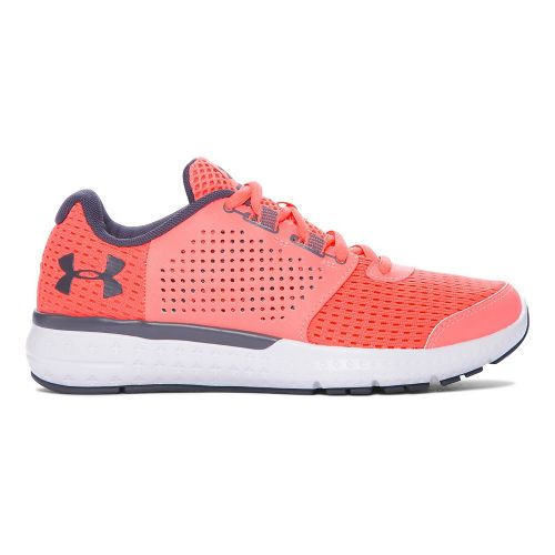 Womens Under Armour Micro G Fuel RN  Running Shoe - Black 12