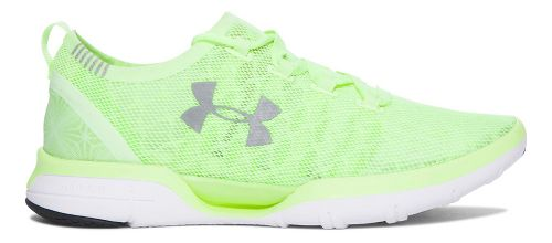 Womens Under Armour Charged CoolSwitch Running Shoe - Lime Fizz 9