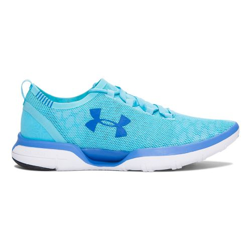 Womens Under Armour Charged CoolSwitch Running Shoe - Venetian Blue 7.5