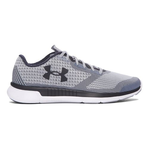 Womens Under Armour Charged Lightning  Running Shoe - White/Grey 10