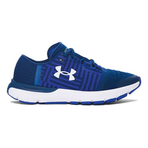Womens Under Armour Speedform Gemini 3  Running Shoe - Blackout Navy 10.5