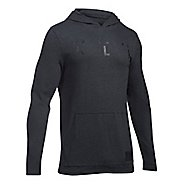 Mens Under Armour Ali Wordmark Triblend Half-Zips & Hoodies Technical Tops