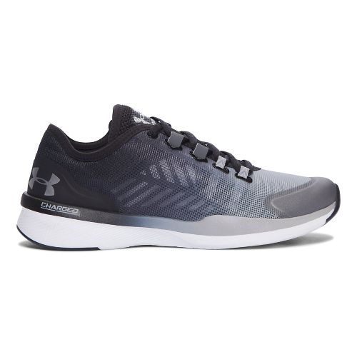 Womens Under Armour Charged Push TR SEG Cross Training Shoe - Rhino Grey 6.5