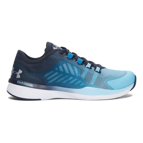 Womens Under Armour Charged Push TR SEG Cross Training Shoe - Chicago Blue 8