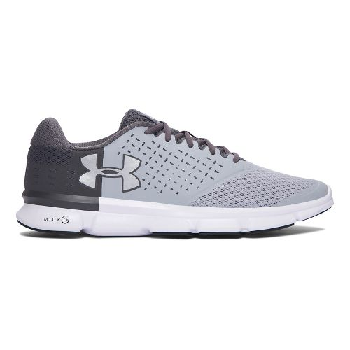 Mens Under Armour Micro G Speed Swift 2  Running Shoe - Grey/Silver 11