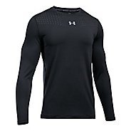 Mens Under Armour Coolswitch Long Sleeve Technical Tops - Black L
