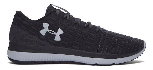 Mens Under Armour Slingflex Running Shoe - Black/Grey 8.5