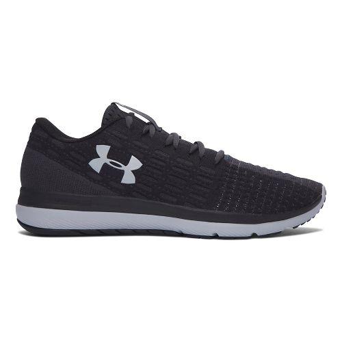 Mens Under Armour Slingflex  Running Shoe - Black/Grey 9.5