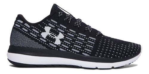 Mens Under Armour Slingflex  Running Shoe - Black/White 7