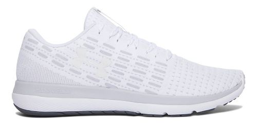 Mens Under Armour Slingflex  Running Shoe - White/Grey 10