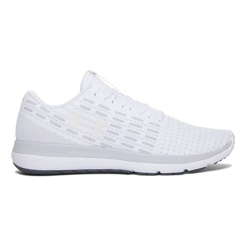 Mens Under Armour Slingflex  Running Shoe - White/Grey 11.5