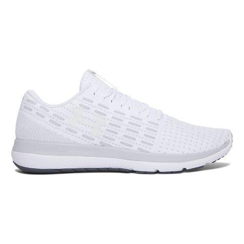 Mens Under Armour Slingflex  Running Shoe - White/Grey 8.5