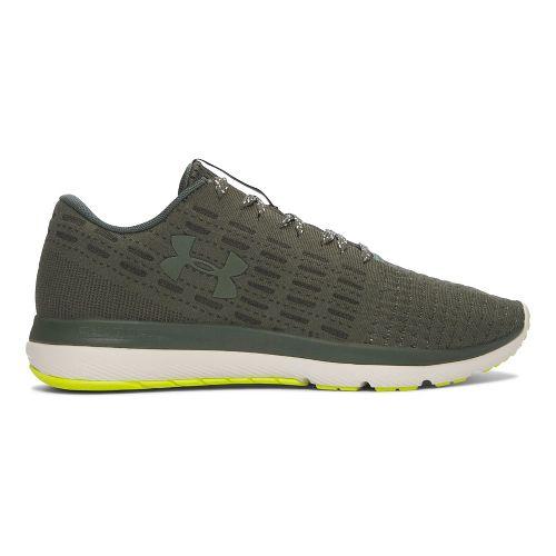 Mens Under Armour Slingflex  Running Shoe - Green/White 13