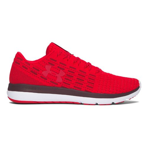 Mens Under Armour Slingflex  Running Shoe - Red/White 8