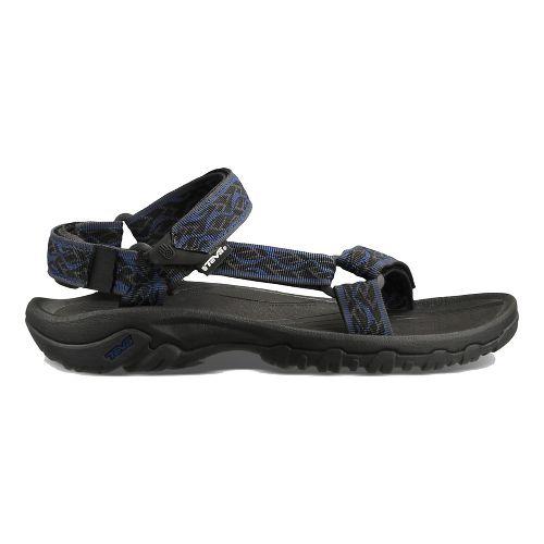 Mens Teva Hurricane XLT M Casual Shoe - Black/Blue 14