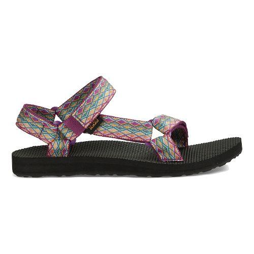 Womens Teva Original Universal Casual Shoe - Purple Multi 10
