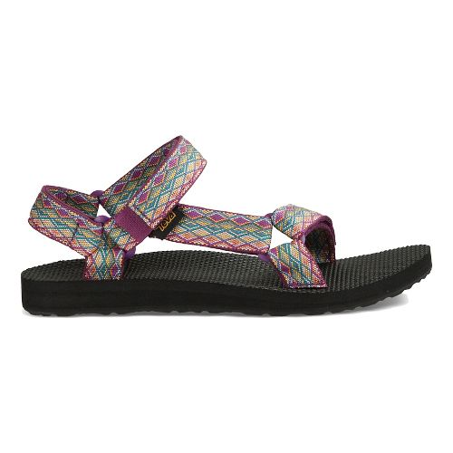 Womens Teva Original Universal Casual Shoe - Purple Multi 6