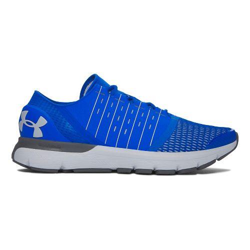 Mens Under Armour Speedform Europa  Running Shoe - Blue/Grey 10