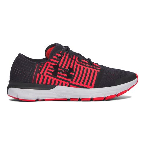Mens Under Armour Speedform Gemini 3  Running Shoe - Black/Red 7.5