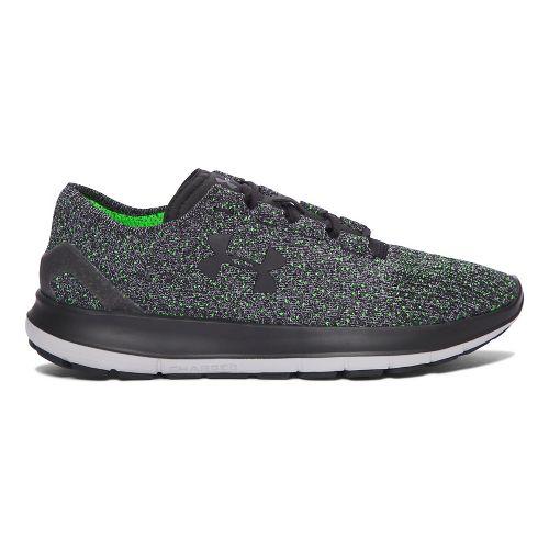 Mens Under Armour Speedform Slingride Tri  Running Shoe - Black/Green 9
