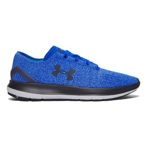 Mens Under Armour Speedform Slingride Tri  Running Shoe - Blue/Grey 10