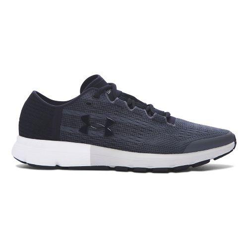 Mens Under Armour Speedform Velociti  Running Shoe - Grey/Black 11.5