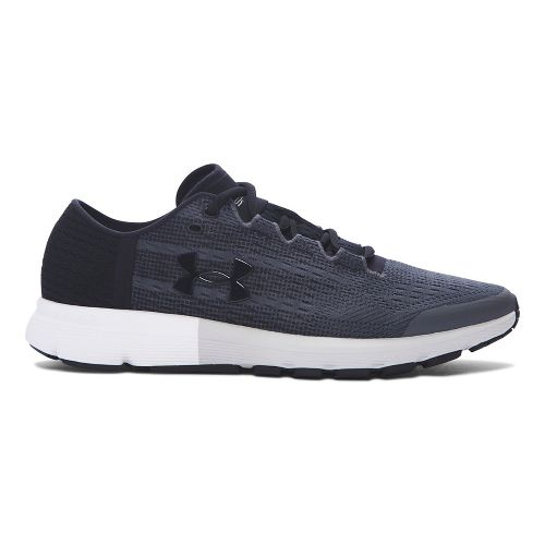 Mens Under Armour Speedform Velociti  Running Shoe - Grey/Black 7