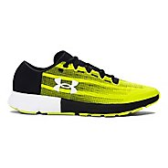 Mens Under Armour Speedform Velociti  Running Shoe - Yellow/Black 11