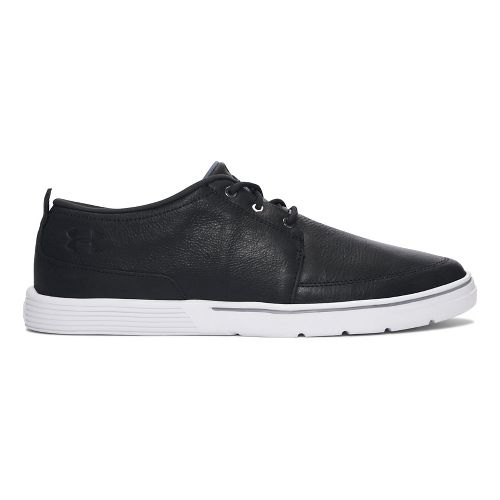Mens Under Armour  Street Encounter LTH III Casual Shoe - Black/White 8