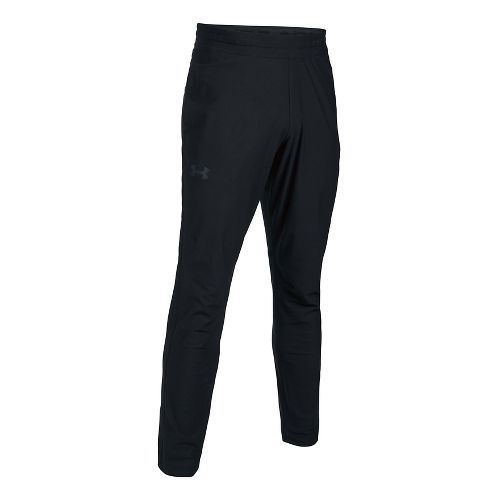 Mens Under Armour Elevated Knit Pants - Black M