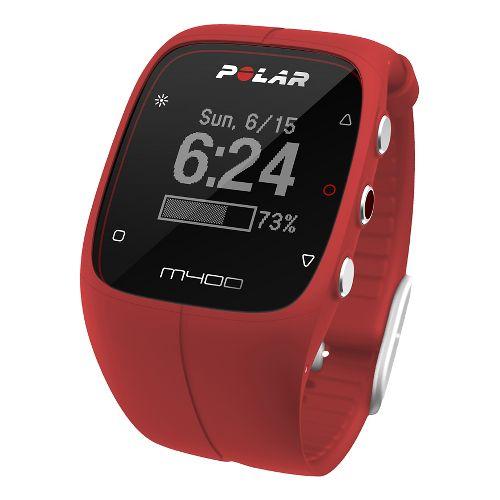 Polar M400 HR Monitors - Red