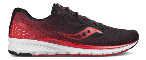 Mens Saucony Breakthru 3 Running Shoe - Black/Red 12