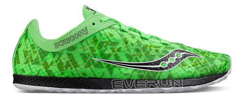Mens Saucony Endorphin Racer 2 Racing Shoe - Slime Black 11.5