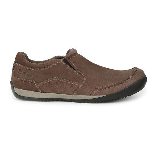 Mens Simple Andes Casual Shoe - Mocha 11