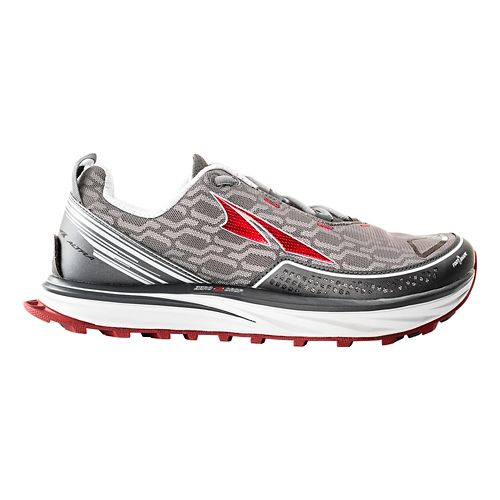 Mens Altra Timp IQ Trail Running Shoe - Charcoal/Red 11