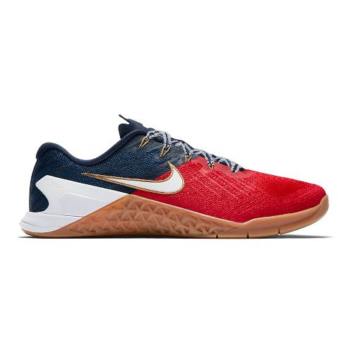 Mens Nike MetCon 3 Freedom Cross Training Shoe - Red/White/Blue 14