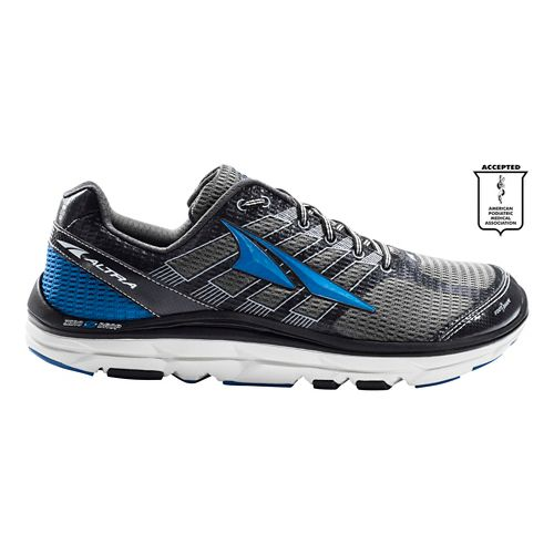 Mens Altra Provision 3.0 Running Shoe - Charcoal/Blue 12.5