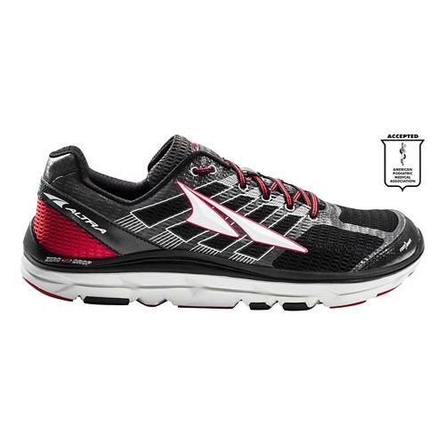 Mens Altra Provision 3.0 Running Shoe - Black/Red 9.5