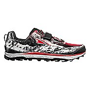 Mens Altra King MT Trail Running Shoe - Black/Red 7