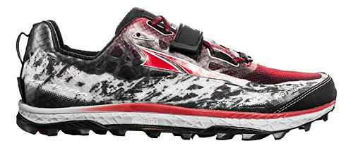 Mens Altra King MT Trail Running Shoe - Black/Red 12