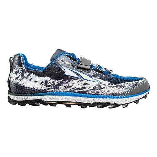 Mens Altra King MT Trail Running Shoe - Blue 10