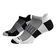 Brooks Ghost Midweight 2 pack Socks