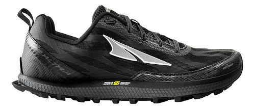 Mens Altra Superior 3.0 Trail Running Shoe - Black/Yellow 10