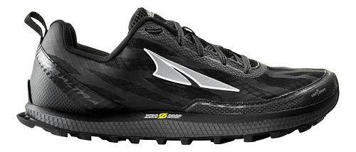 Mens Altra Superior 3.0 Trail Running Shoe - Black/Yellow 12.5