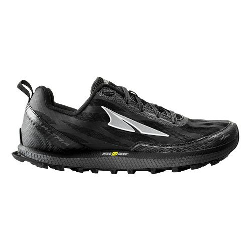 Mens Altra Superior 3.0 Trail Running Shoe - Black/Yellow 10.5