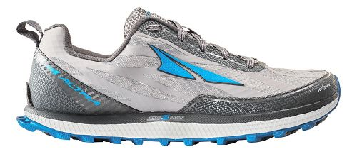 Mens Altra Superior 3.0 Trail Running Shoe - Grey/Blue 8.5