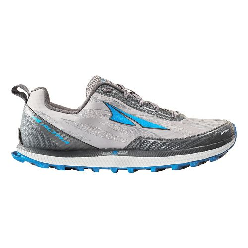 Mens Altra Superior 3.0 Trail Running Shoe - Grey/Blue 10.5