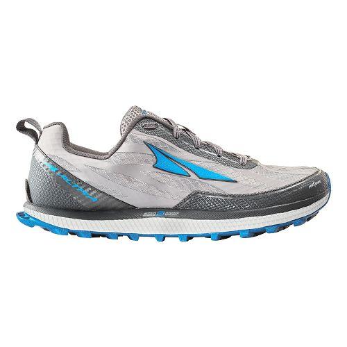 Mens Altra Superior 3.0 Trail Running Shoe - Grey/Blue 11